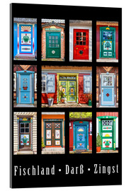 Acrylic print  Beautiful doors in Fischland Darss Zingst - Christian Müringer