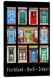 Canvas print  Beautiful doors in Fischland Darss Zingst - Christian Müringer