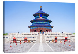 Canvas print  Temple of Heaven in Beijing - Jan Christopher Becke