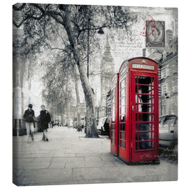 Canvas print  Postcard From London 01 - Frank Wächter