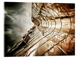 Acrylic print  Gehry Duesseldorf | 03 (landscape) - Frank Wächter