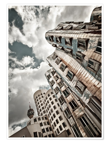 Premium poster Gehry Duesseldorf | 02