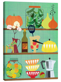 Canvas print  Kitchen shelf 02 - Elisandra Sevenstar