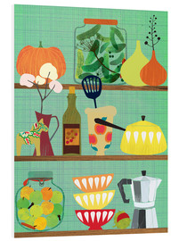 Foam board print  Kitchen shelf 02 - Elisandra Sevenstar