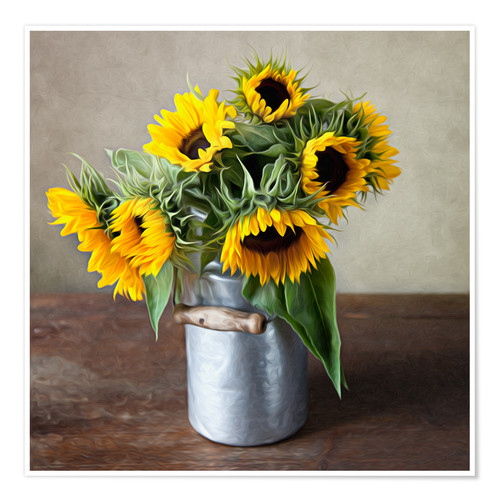 Premium poster Sunflowers 01