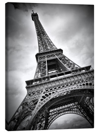 Canvas print  Eiffel Tower, PARIS III - Melanie Viola