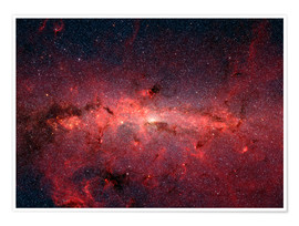 Poster  The center of the Milky Way - Stocktrek Images