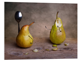 Foam board print  Simple Things - Pears - Nailia Schwarz