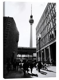 Canvas print  Berlin street - Falko Follert