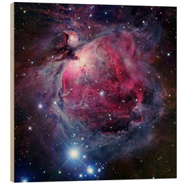 Wood print  The Orion Nebula - Robert Gendler