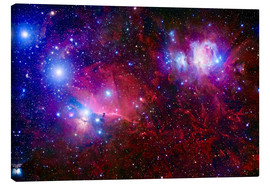 Canvas print  The Belt Stars of Orion - Robert Gendler