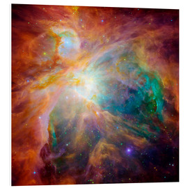 Foam board print  The Orion Nebula