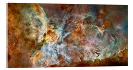 Acrylic glass  The central region of the Carina Nebula - Stocktrek Images