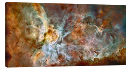 Canvas  The central region of the Carina Nebula - Stocktrek Images