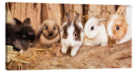 Canvas  bunnys - Photoplace Creative