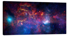Canvas print  central region of the Milky Way galaxy - Stocktrek Images