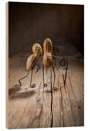 Wood print  Simple Things - Together - Nailia Schwarz