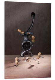 Acrylic print  Simple Things - Meat Grinder - Nailia Schwarz