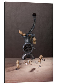 Aluminium print  Simple Things - Meat Grinder - Nailia Schwarz