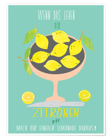Poster  When Life gives you lemons - Elisandra Sevenstar