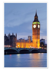 Premium poster  Big Ben, London - Markus Lange