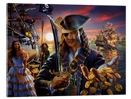 Acrylic print  The pirate - Adrian Chesterman