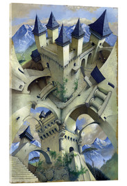 Acrylic print  Castle of illusion - Irvine Peacock
