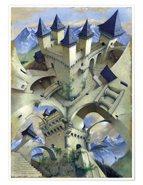 Premium poster Castle of illusion