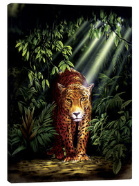Canvas print  Jungle leopard - Robin Koni