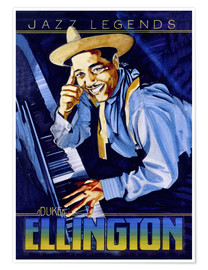 Premium poster Duke Ellington