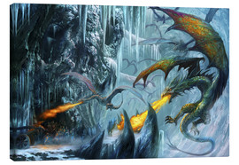 Canvas print  The cave - Dragon Chronicles