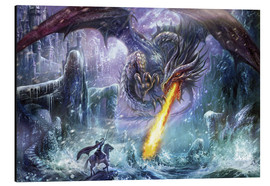 Aluminium print  Dragon attack - Dragon Chronicles