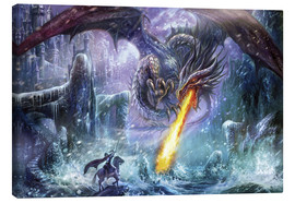 Canvas print  Dragon attack - Dragon Chronicles