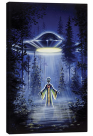 Canvas print  Visitors - The arrival - Area 51