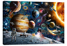 Canvas print  Space Odyssey - Adrian Chesterman