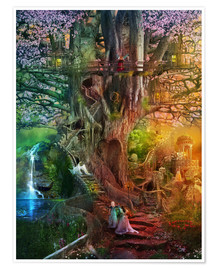 Premium poster  The dreaming tree - Aimee Stewart