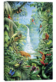 Canvas print  Save the rainforest - Gareth Williams