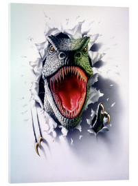 Acrylic glass  Tyrannosaurus - Gareth Williams