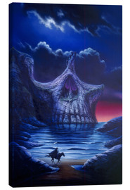 Canvas print  Skull point - Garry Walton