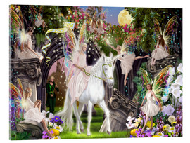 Garry Walton - Fairy Queen with Unicorn