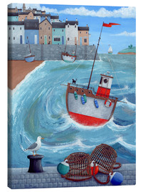 Canvas print  Lobster pot - Peter Adderley