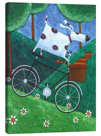 Canvas print  Duke's Bike Ride - Peter Adderley