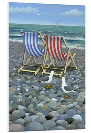 Foam board print  Deck Chairs - Peter Adderley