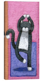 Canvas print  Yoga for Cats - Peter Adderley