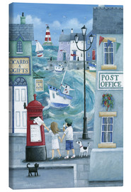 Canvas  Harbour Post - Peter Adderley