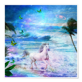 Premium poster Enchanted Horse