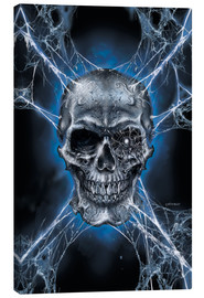 Canvas print  Spiderskull - Richard Kelly