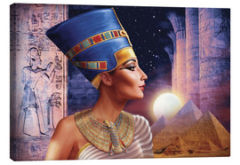 Canvas  Nefertiti - Andrew Farley