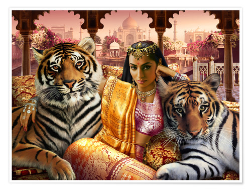 Premium poster Indian princess
