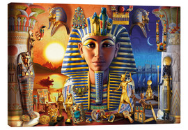 Canvas  Egyptian Treasures - Andrew Farley